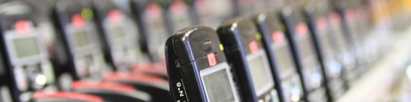 Téléphones dect conditionnés pour l'événement